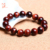 Wholesale gemstone red tiger eye beads bracelet