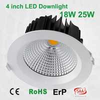 high cri 90mm cut out 12w 18w 25w 30w 45w dimmable led downlight australian standard led downlight cheap led lamp