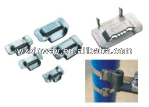 China copper and aluminium banding buckle