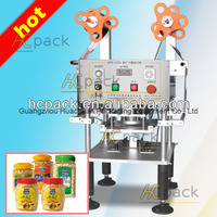 semi automatic machine for sealing plastic cups