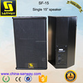 "SF-15 Single 15"" Active Professional Stage Compact Speaker"