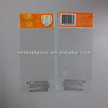 Factory direct sale small pouch plastic opp bag packaging for jewelry