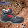 NMSAFETY S3 safety shoes cow leather PU sole safety boots shoes