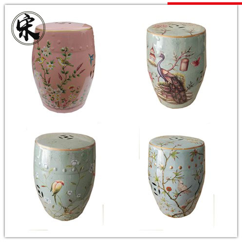 Chinese new design porcelain garden stools