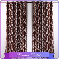 2016 New Products Wall Beads Closeout Curtains Fabric Stocklot in China Supplier