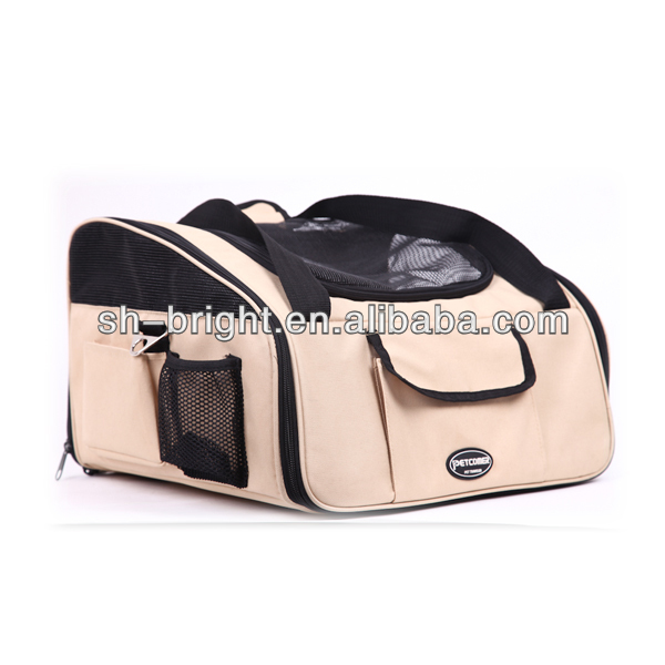 Top Class Booster Dog Luxury Car Seat Carry Bag
