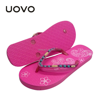 red color cheap wholesale flip flops for women