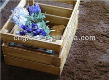 home sundries wooden storage crate for promotion