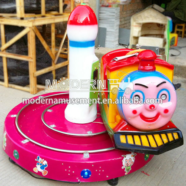 Indoor Coin operated attractions for children electric wobbler