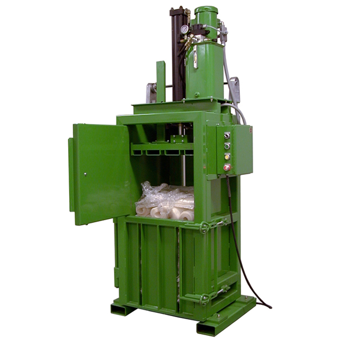 Waste Cans Baling Press Machine /vertical Hydraulic Plastic Bottle Scrap Baler Manufacturer
