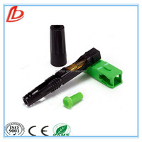 Fiber Optic Fast Connector/FTTH Fast Connector Cold Splice Connector for digital communications/Conector de fibra optica rapida