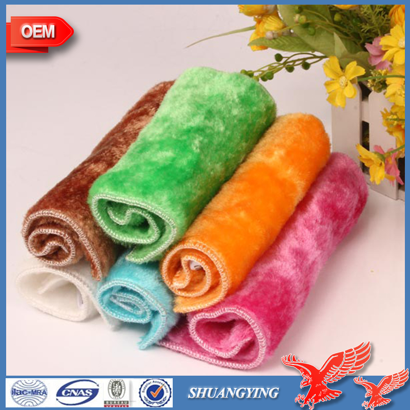 China Factory Wholesale 100% Wood Fiber Decontamination Quick Dry Kitchen Towel