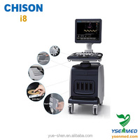 Good quality trolley 4d color dopper CHISON i8 ultrasonic