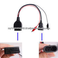 More Discounts for Promotion OBD2 diagnostic cable For fiat 3Pin To 16 Pin Female Adapter