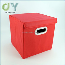 Wholesale for cheap foldable file storage box with lid