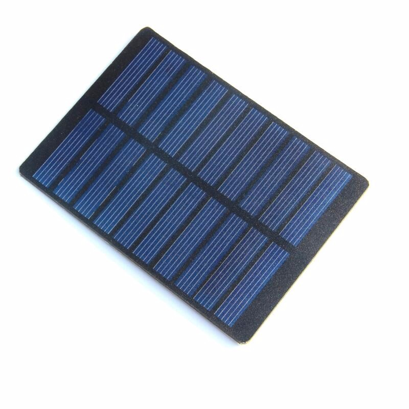 China cheap customized small size polycrystalline PET flexible solar panel