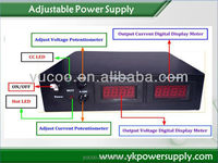 Output High Voltage 0-200vdc Adjustable DC Power Supply