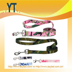 Camo Camouflage Dog Leash Lead Pet Blue Pink Green Leads Leashes