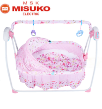 Automatic baby swing bassinet hanging folding baby cradle