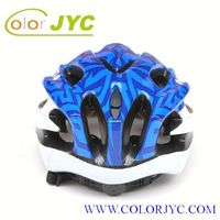 JYC245 colorful fashionable in-mold bicycle helmet