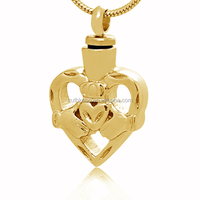 Heart In Hand Shaped Soap Anatomical Hollow Heart Pendant Necklace Jewelry True Love Keepsake Pendant For Our Loved Members