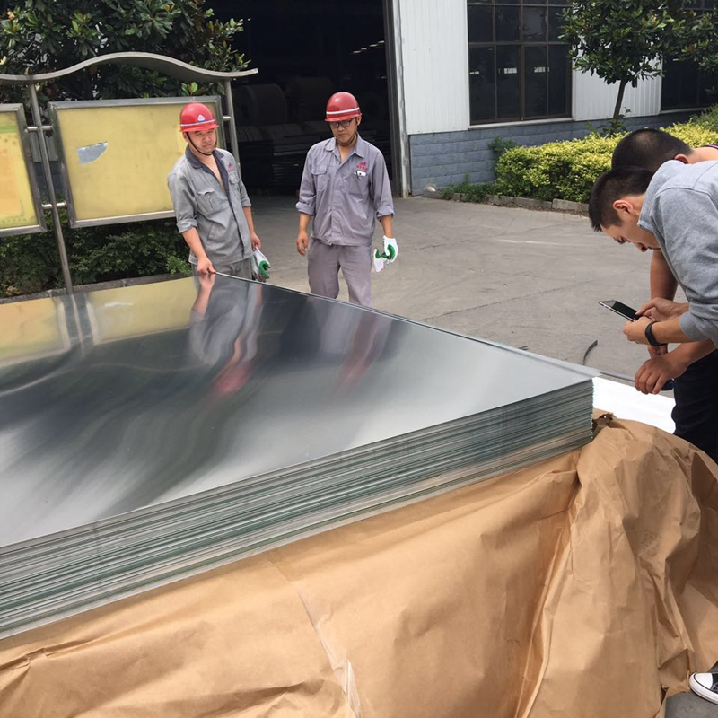 5xxx flat plates chinese supplier 5052 aluminium sheet price per kg with stock