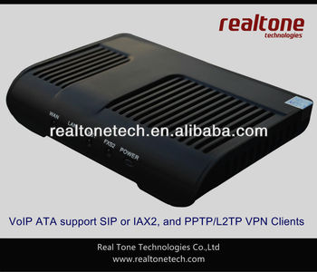 VoIP Phone Adapter ATA with 2FXS port;