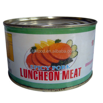 Canned Meat Spicy Pork Luncheon Meat