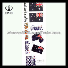 country flag temporary promotion car tattoo sticker