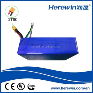 China OEM 25C 22.2V 5200mAH rechargeable lipo battery pack for RC airplane
