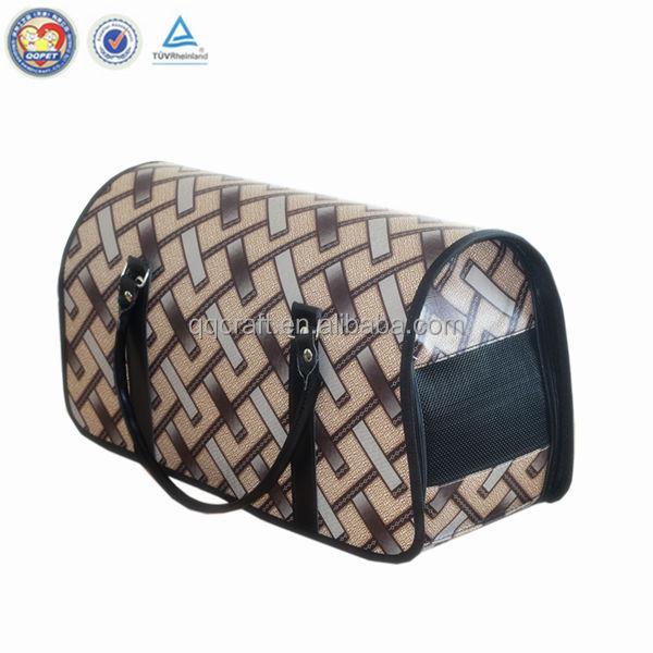 QQ factory wholesale luxury deluxe pet carrier & sleepypod air pet carrier & shoulder backpack pet carrier bag