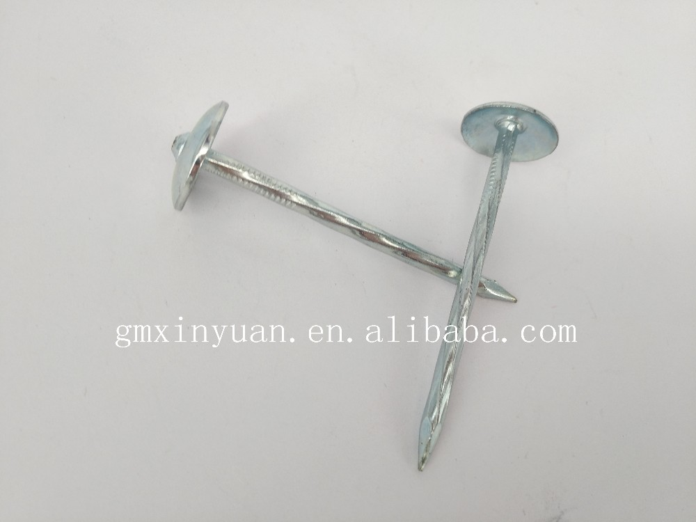 Iron wire galvanized roofing nails price