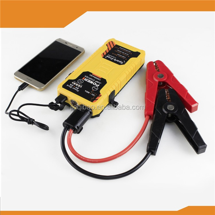 12v portable 15000mah capacity power bank waterproof and dustproof car battery jump starter price for sale