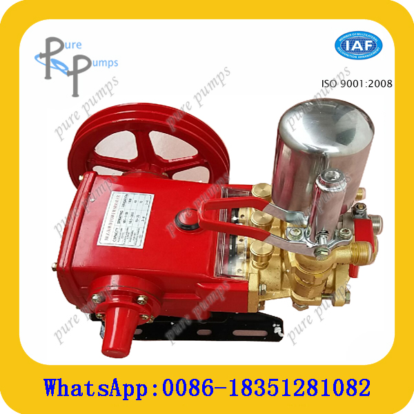 belt drive high pressure plunger spraying irrigation piston water pump