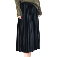 Women Long Metallic Silver Maxi Pleated <strong>Skirt</strong> Midi <strong>Skirt</strong> High Waist Elascit Casual Party <strong>Skirt</strong>