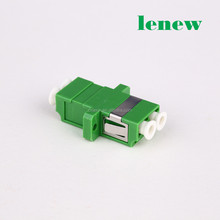 Huawei FTTH LC APC Fiber Optic Adapter Duplex Green Color SC Type Adapter