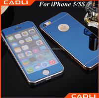 2016 factory supply 9H hardness 2.5D round edge full screen color tempered glass screen protector for iphone 5 5s