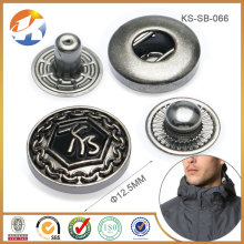 Custom Logo Metal Button Snaps
