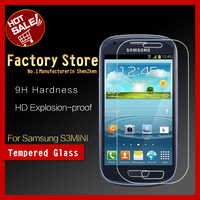 Mobile phone flim 0.26mm tempered glass screen protector for samsung galaxy s3mini