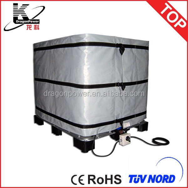 Best sale insulation IBC tank heating jacket made to order