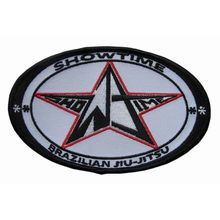 oval BRAZILIAN JIU-JITSU embroidery patch