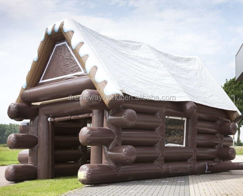 Portable and Waterproof inflatable Irish pub for sale, outdoor inflatable bar for party