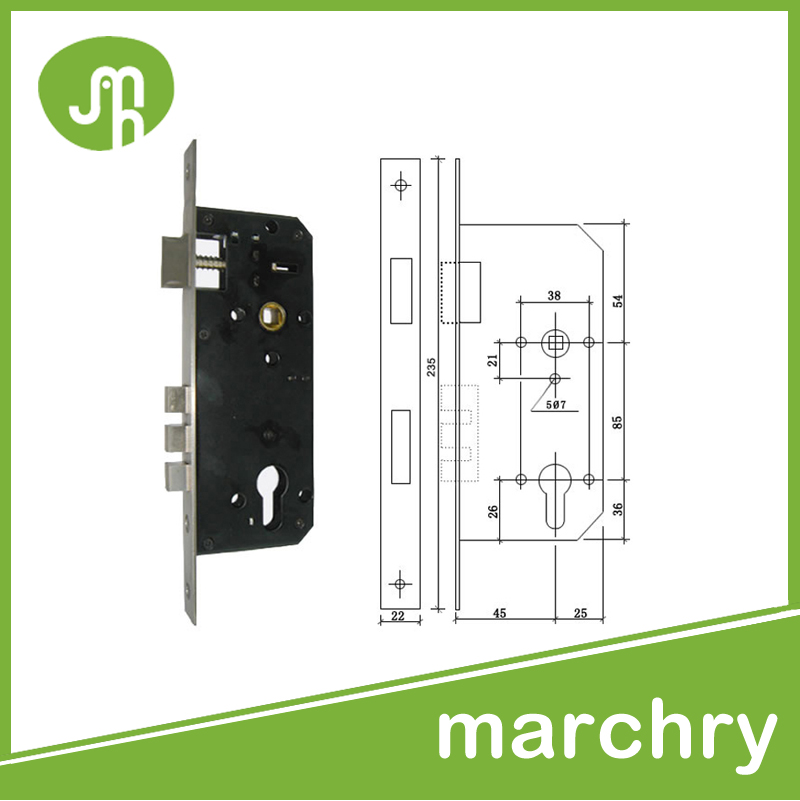 High Quality Security Outward Opening Door Locks