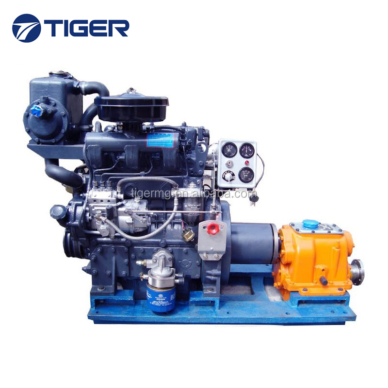 ce approved 3-cylinder marine diesel engine