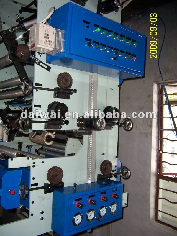Film Printing Machine / 1-8 Colors Printer / Rotogravure Printing Machine