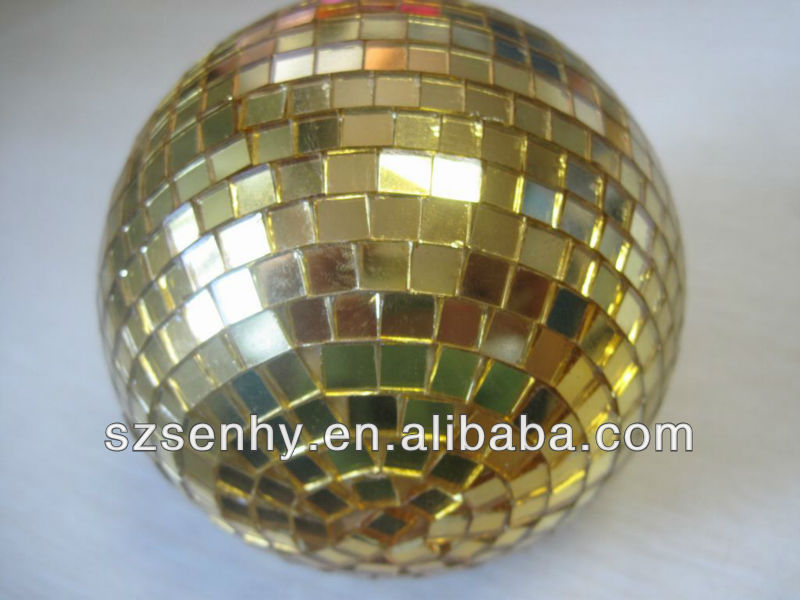 Large Decorative Christmas mirror balls