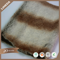 High Quality Faux Chinchilla Fur Fabric