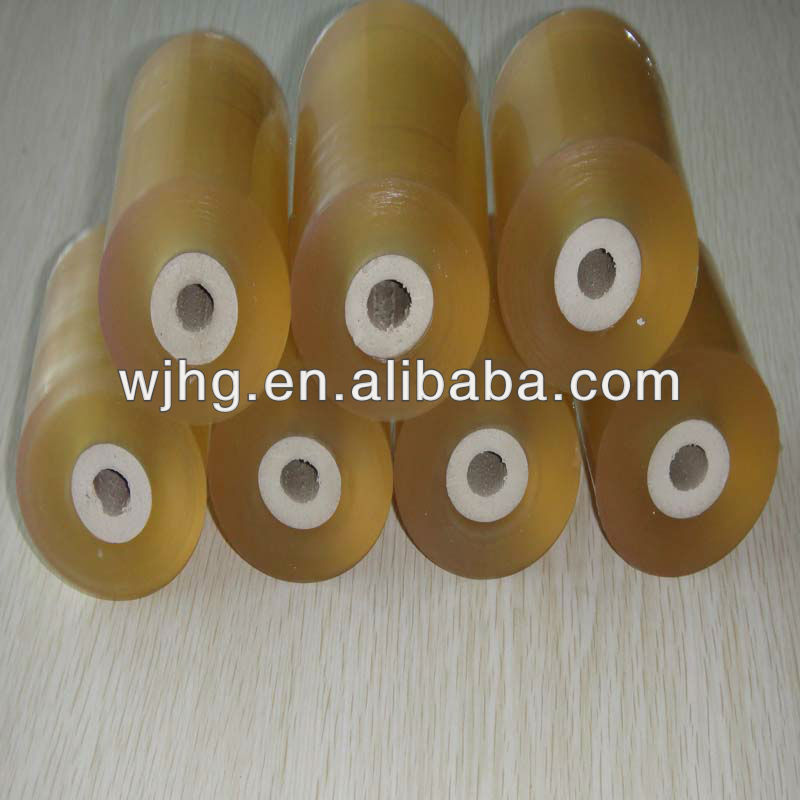yellow transparent pvc film for cable