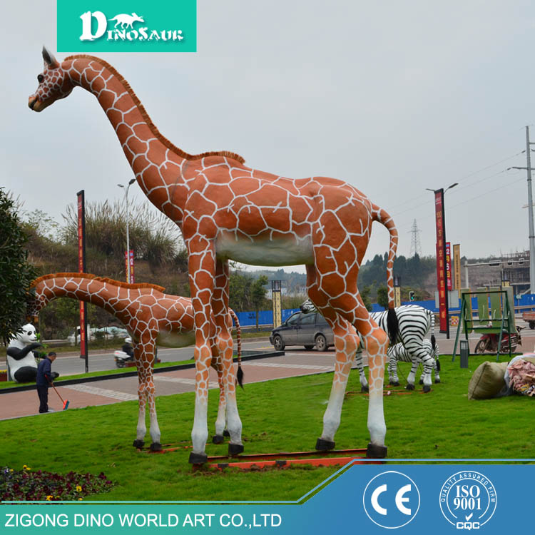 Model For Playground Animal Robotic Giraffe