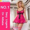 Wholesale mature woman sexy hot baby doll night lingerie